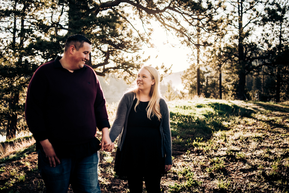 2 Alderfer Three Sisters Park Engagement Photography